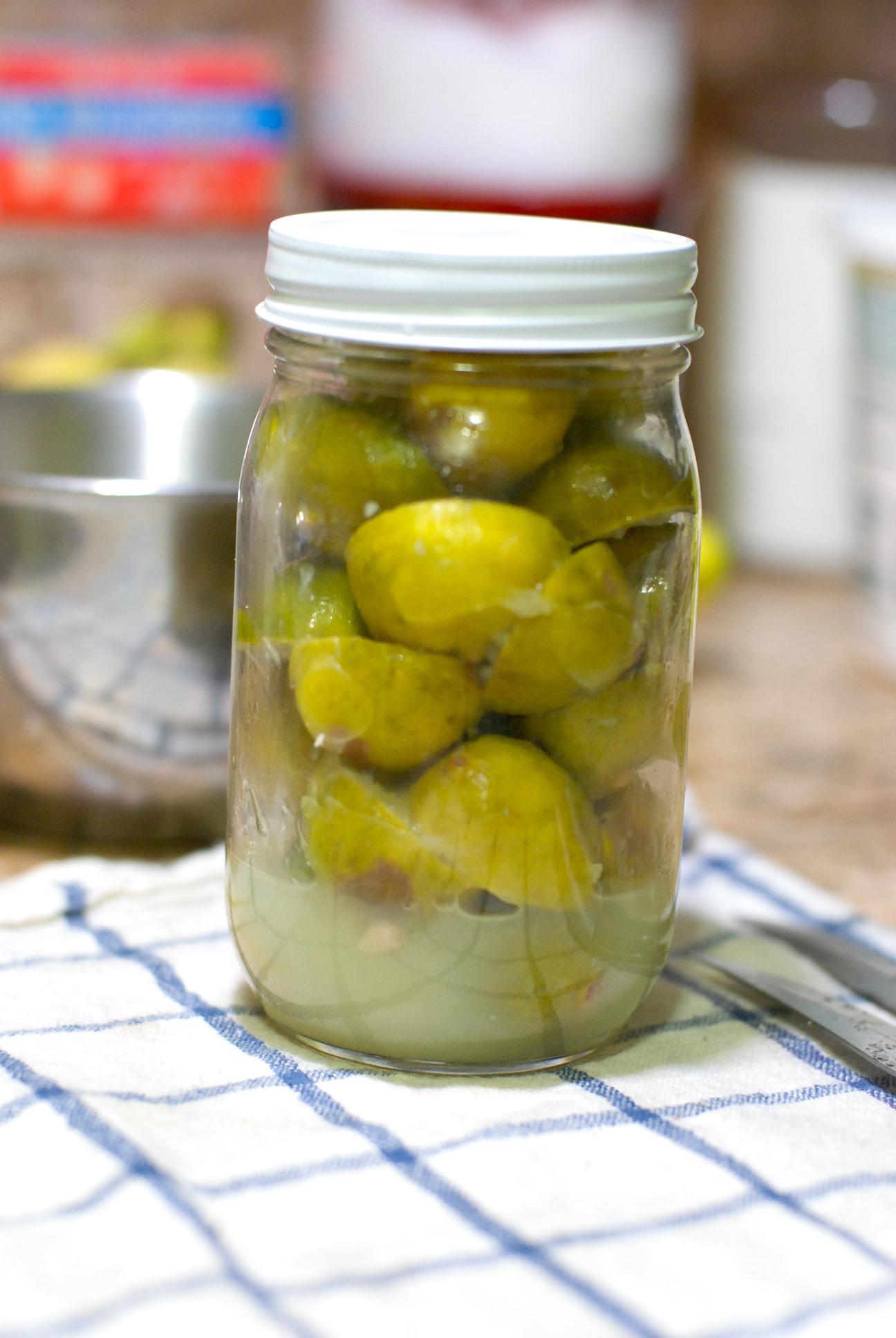 Limbu nu Athanu – Lemon Pickle – Nimbu Ka Achar