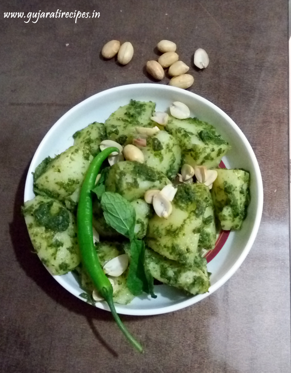 Farali gujarati recipes pudina green aloo forumfinder Choice Image